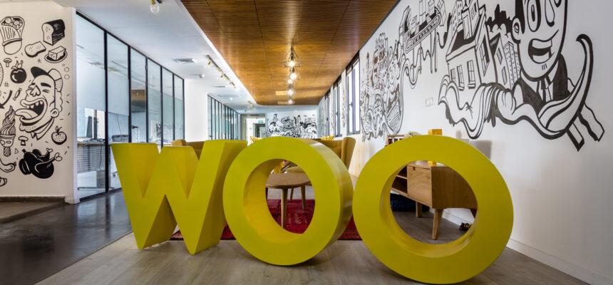 עיצוב פנים משרדי חברת WOO
