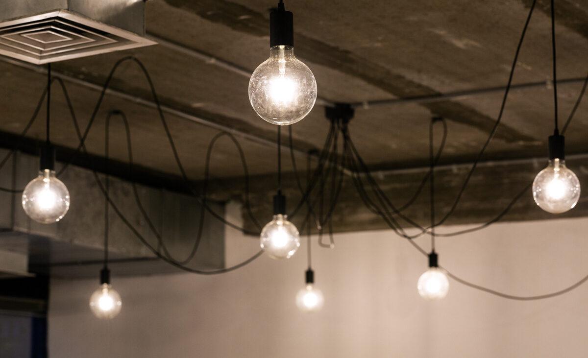 תאורה במשרדי Comeet