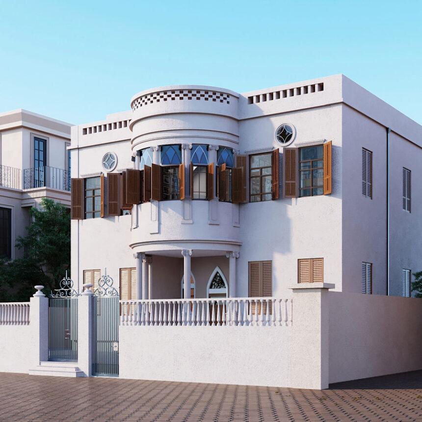 תכנון בנין לשימור - בית זפטה, שדרות ירושלים. יפו