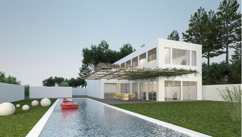 בית בשרון - שחורי אדריכלים