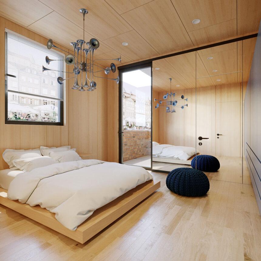 עיצוב פנים לדירה בבנין לשימור בשוק יפו