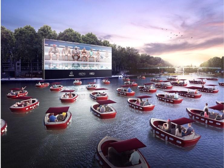 קולנוע על המים, יולי 2020 - פאריס