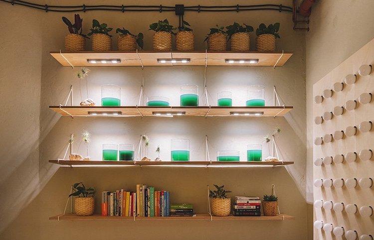 מיצב תאורה - בית המחר של איקאה